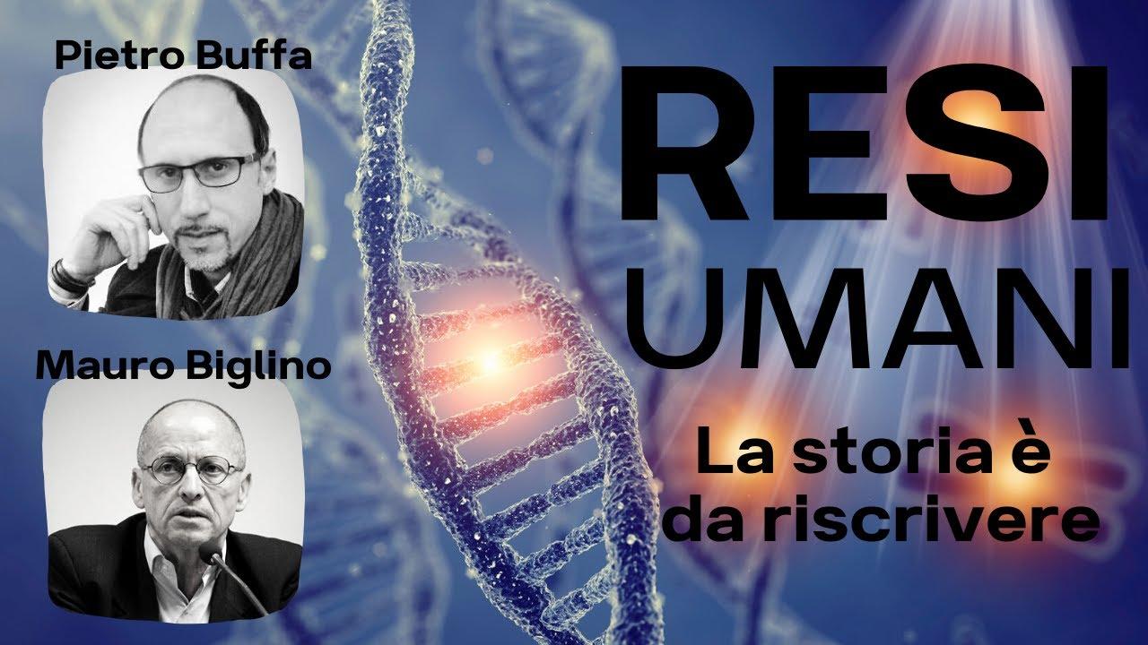 """Conferenza di Mauro Biglino e Pietro Buffa """"Resi Umani - La Storia è da Riscrivere"""""""