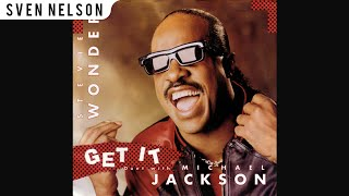 Michael Jackson - 03. Get It (Duet with Stevie Wonder) [Audio HQ] HD