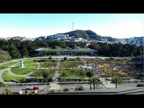 Tourist Attraction: Golden Gate Park, San Francisco (HD)