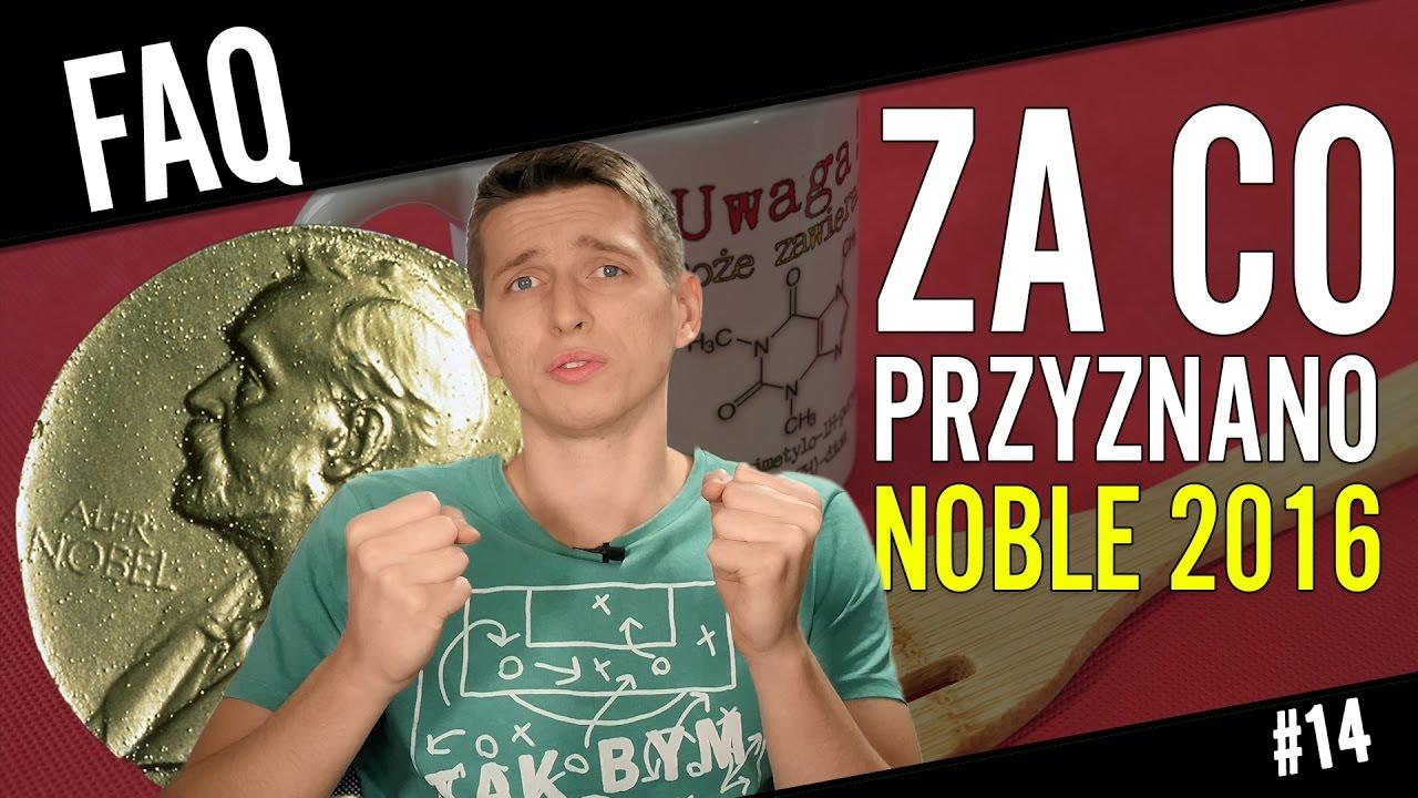 Za co przyznano Noble 2016?