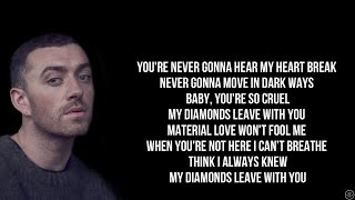 Sam Smith - DIAMONDS (Lyrics)