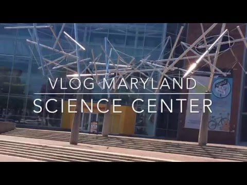 Vlog Maryland science center | things to do in Baltimore