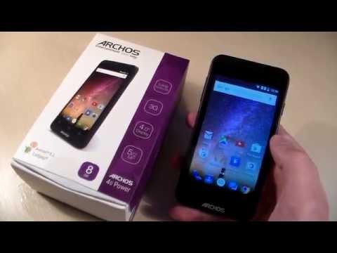 Обзор Archos 40 Power (HD)