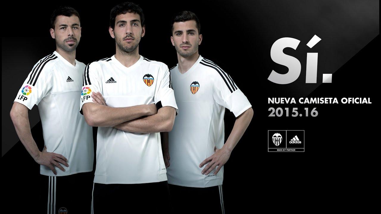 equipacion Valencia CF nuevas