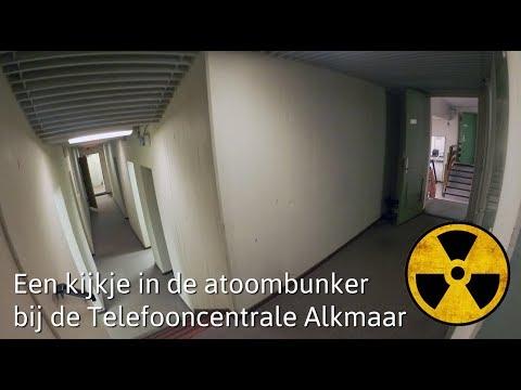 Atoombunker Telefooncentrale Alkmaar