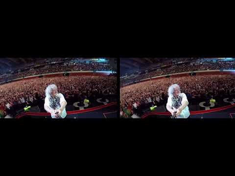 Selfie Stick Video |3D| Lisbon, Portugal [June 7, 2018] Queen + Adam Lambert