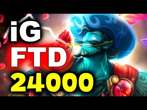 IG Vs FTD - 70 MIN 24k GOLD AMAZING GAME! - TI8 CHINA QUALS DOTA 2