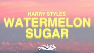 "Baixar Harry Styles - Watermelon Sugar (Lyrics) ""tastes like strawberries"""