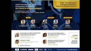 SICOB - Redefining New Standards in Metabolic Medicine & Surgical Research