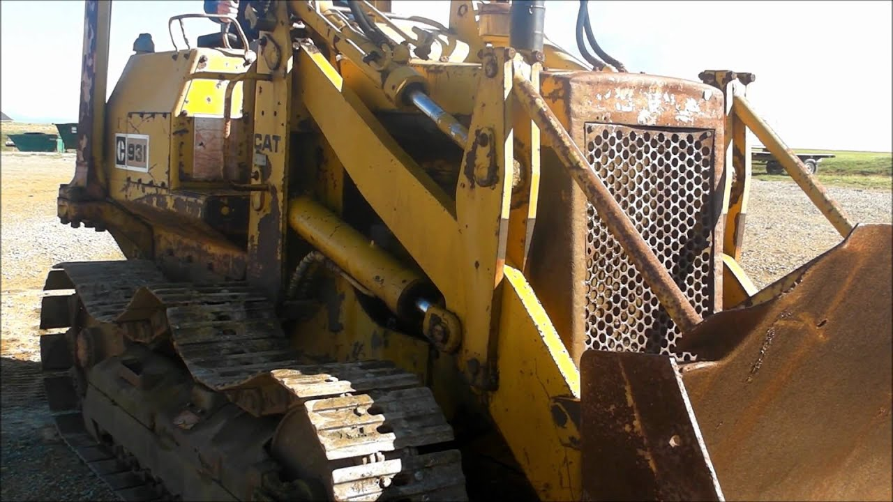 Caterpillar 931 Track-loader