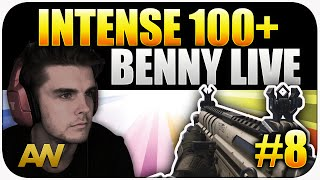Advanced Warfare: HBRa3 Buff, Intense 100+ Kills - Benny Live #8 (CoD AW Multiplayer)