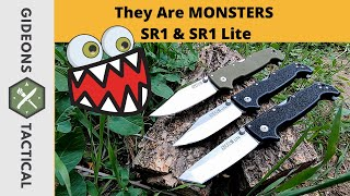 They Are Monsters Cold Steel SR1 \u0026 SR1 Lite