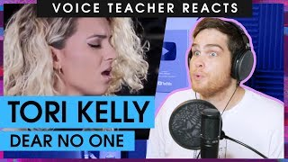 Voice Teacher Reacts to Tori Kelly - Dear No One