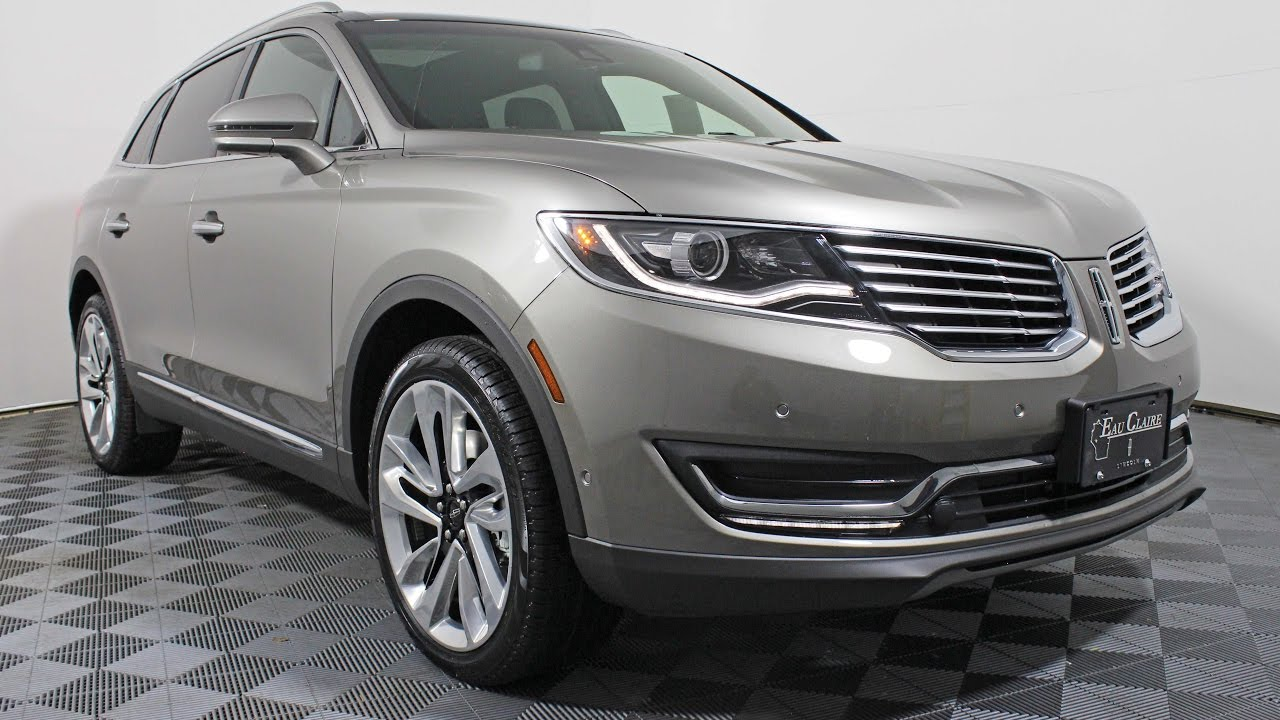 2017 Lincoln Mkx Reserve 3 7l Awd Suv At Eau Claire Ford Quick Lane