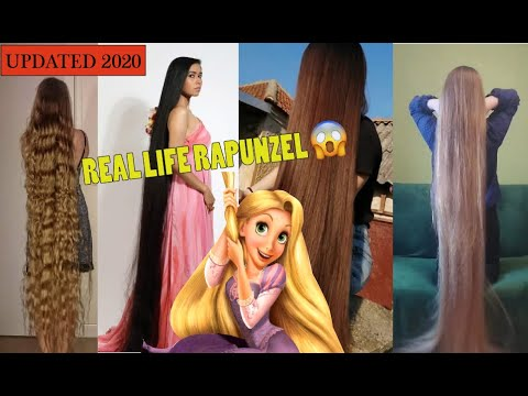 Girls With Longest Hair In The World 2020 Best Real Life Rapunzels 2020 Long Hair Repunzel Blogs Youtube