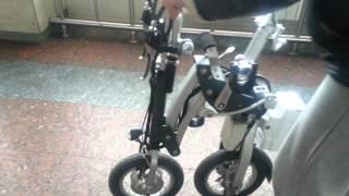 Обзор велосипеда с моторчиком, раскладной, СУПЕР,ПРОДАЕТСЯ