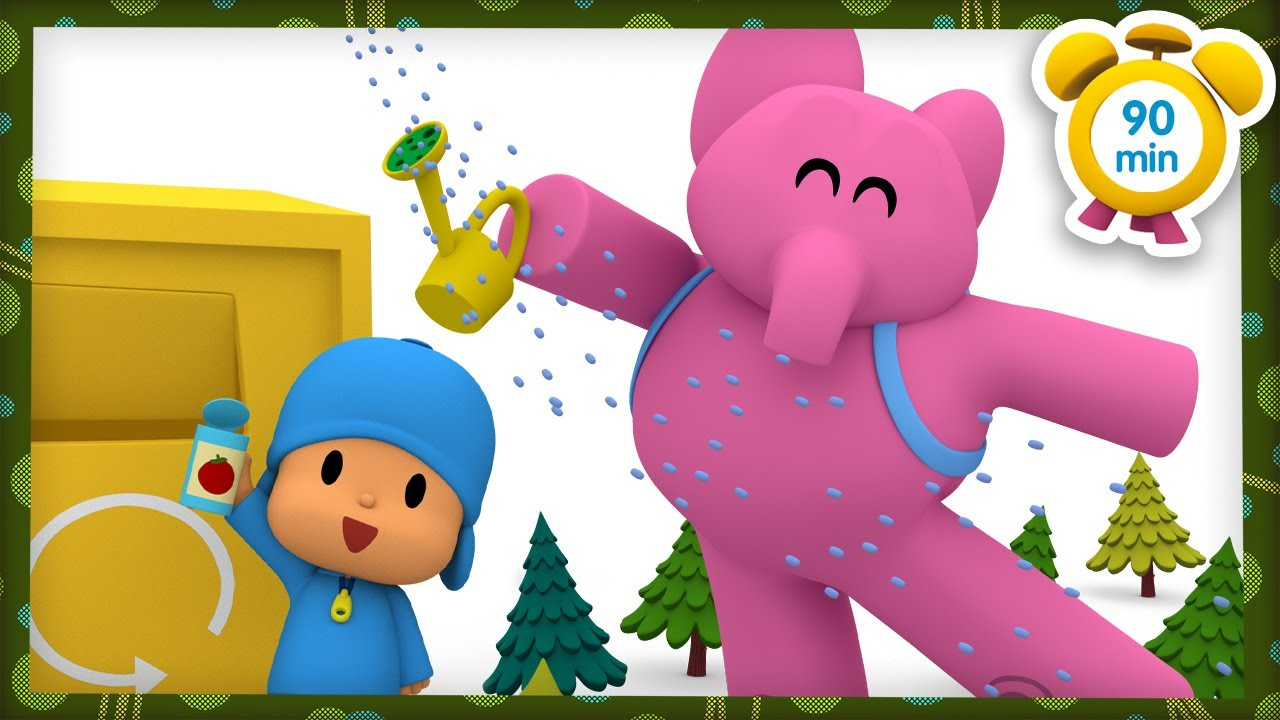 🌏 POCOYO in ENGLISH - Happy Earth Day [90 min] | Full Episodes | VIDEOS and CARTOONS for KIDS