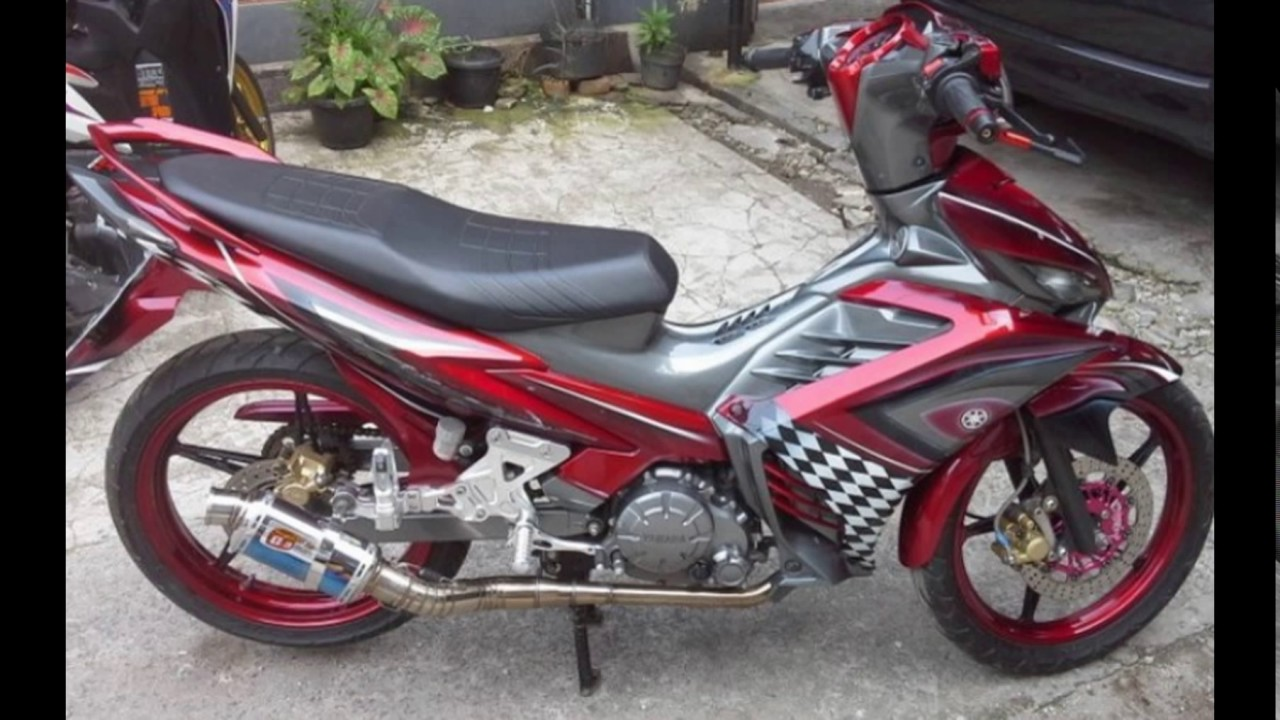 Cah Gagah Video Modifikasi Motor Yamaha Jupiter MX New Airbrush