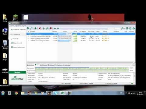 Como Descargar Usar y Descargar Archivos por Utorrent
