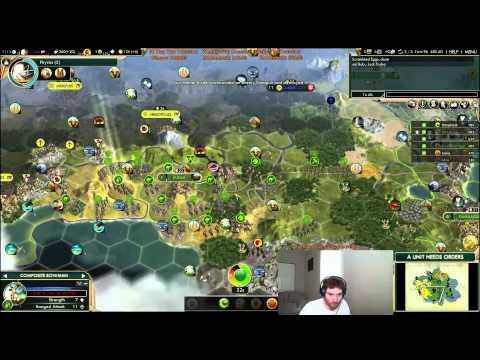 Game 243: Arabia Part 1