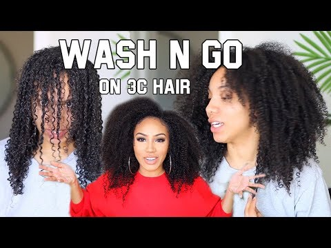 Defined Wash'n Go on Dry, Damaged, Natural Hair?! HOW SWAY!?
