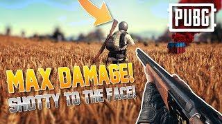 MAX DAMAGE! SHOTGUNS ARE SO FUN!! [PUBG Mobile] Gameplay