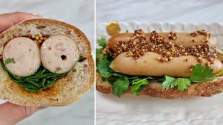 [1분완성] 고수 소시지 샌드위치 만들기 Make co…