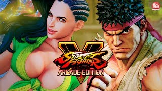 STREET FIGHTER V: ARCADE EDITION - ZERANDO COM RYU, LAURA e CHUN LI thumbnail