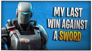 Fortnite - My last win against a sword - December 2018 | DrLupo
