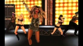 TINA TURNER at London in Second Life (London City)