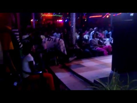 Girl dances up on Taurus D while on stage @ Beverly Hills Uganda