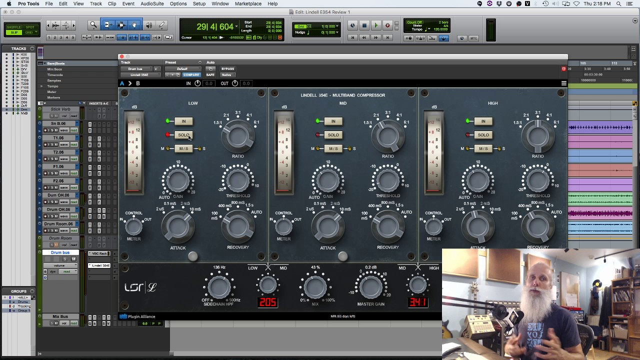 How To Add Excitement To Your Drum Mix [Lindell 354E