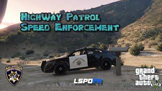 LSPDFR - Highway Patrol - Speed Trap - Radar for GTA 5 - GTA V