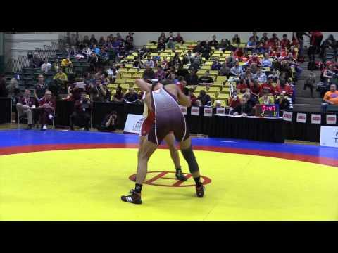 2015 CIS Championships: 82 kg Final Grayson St. Laurent vs. Joban Phulka