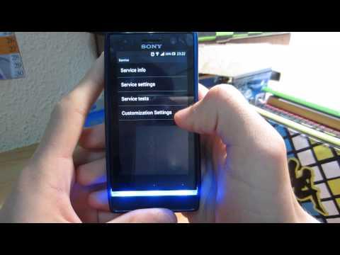 Formatear Sony Xperia U