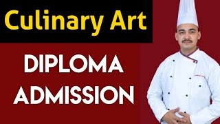 Diploma in Culinary Arts Course | Degree in Culinary arts course | Diploma in Hotel Management