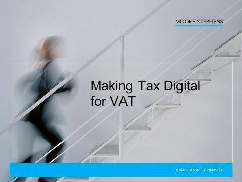 Moore Stephens Webinar Making Tax Digital for VAT Mp3