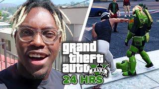 I Lived Like My GTA V Character for 24 Hours