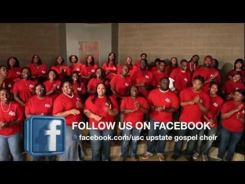USC Upstate Gospel Choir 2012 Concert Promotion.wmv