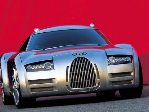 #1581. Audi rosemeyer 2000 (Prototype Car)