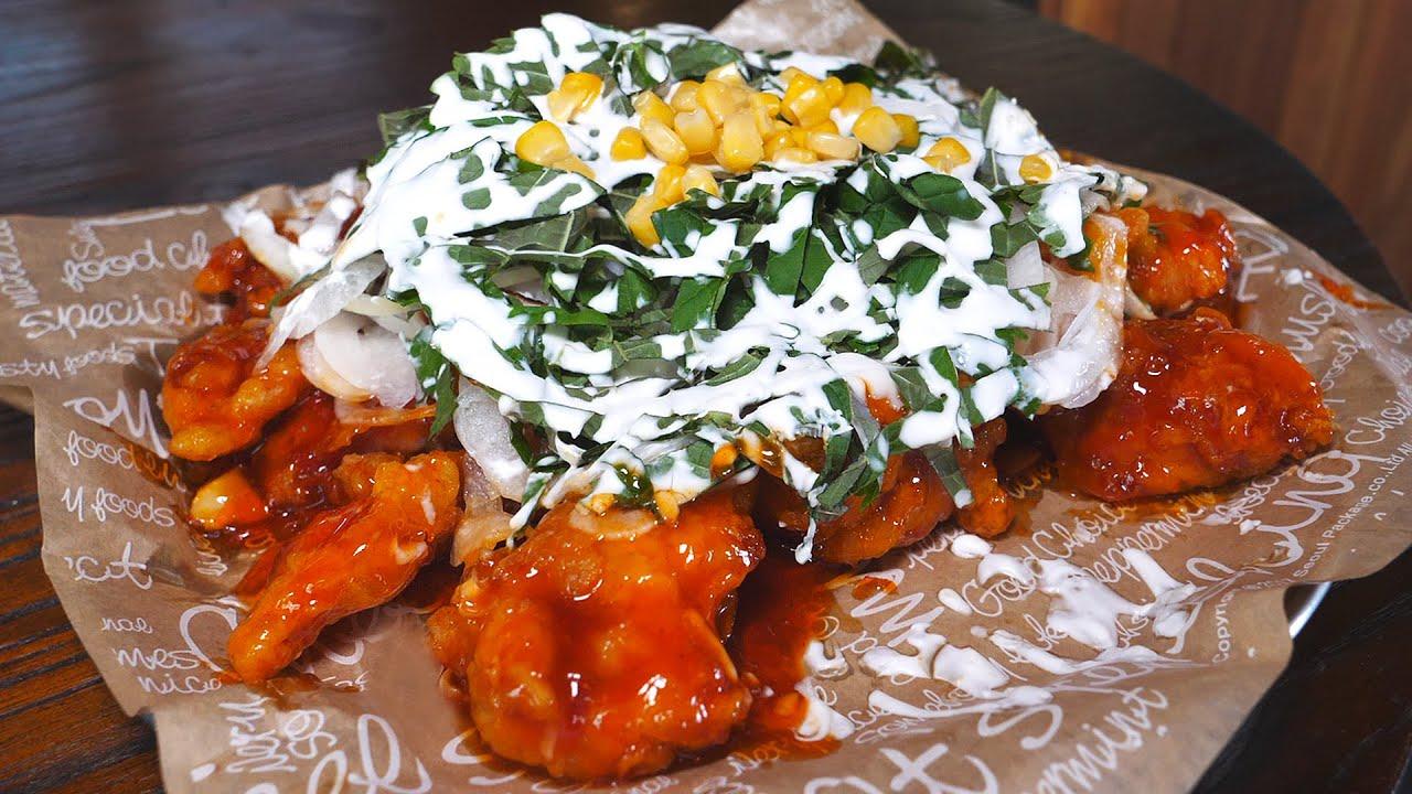치킨의 맛있는 진화! 치맥하기 좋은 이색적인 순살치킨 3종 / Korean style delicious fried chicken