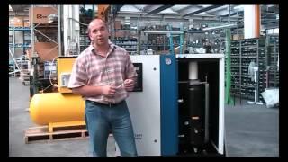 видео Компрессор Fiac CRS 15/500 SD 10 бар