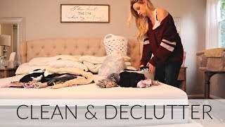 CLEAN AND DECLUTTER 2018 // BEAUTY AND THE BEASTONS