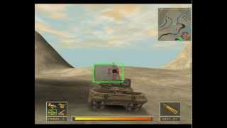 Gulf war: Operation desert hammer gameplay (3DO, Glide, 1999)