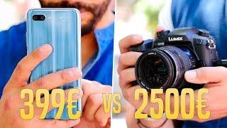 SMARTPHONE vs cámara PROFESIONAL, ¿Cúal es mejor?