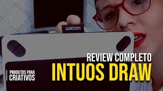 Review Intuos Draw -  Wacom | Amarelo Criativo | S03-E04