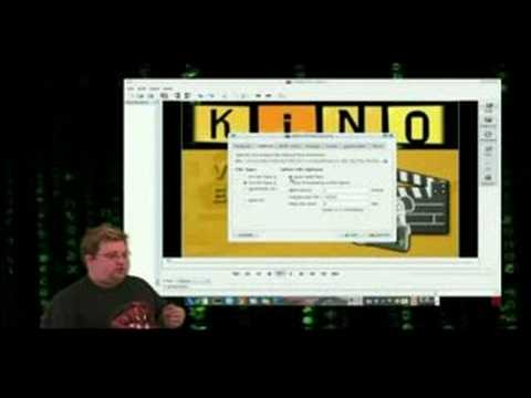 LINUX video capture - KINO Tutorial