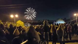 Салют 9 мая 2017 года в Раменском