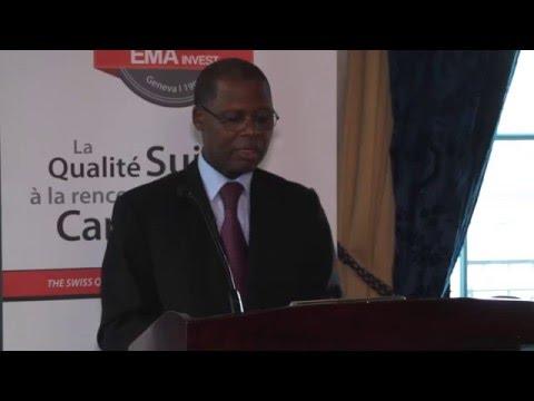 Discours Ambassadeur du Cameroun en Suisse lors de la réunion préparatoire hôtel des Bergues Genève