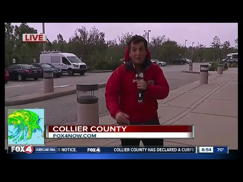 Strong winds hitting Collier County